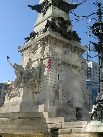Active Indy Tours: Monument Circle