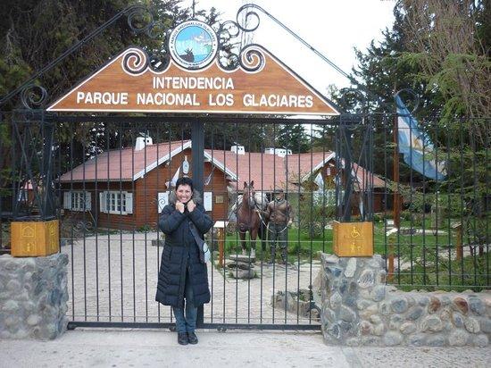 Intendencia Parque Nacional Los Glaciares: Acceso