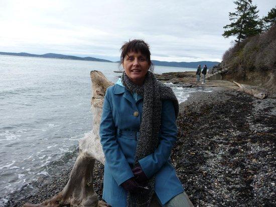 Hollyhock Lifelong Learning Centre: Beach in BC Canada