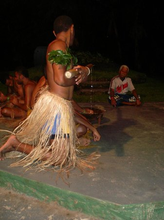 Fiji Hideaway Resort & Spa: Village Yaqona Ceremony