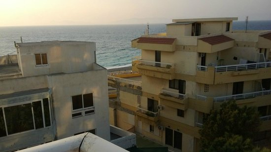 Agla Hotel : Sea view