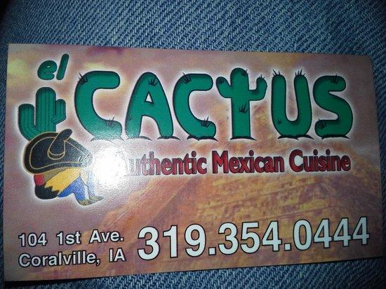 El Cactus: Card