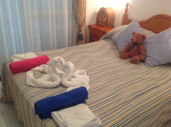 Europark 74 Aparthotel: Double bedroom (206)