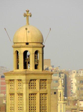 Cairo Marriott Hotel & Omar Khayyam Casino: View From Balcony