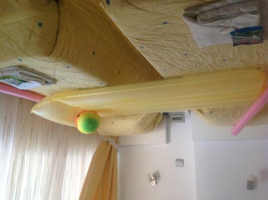 Europark 74 Aparthotel: Twin bedroom (203)