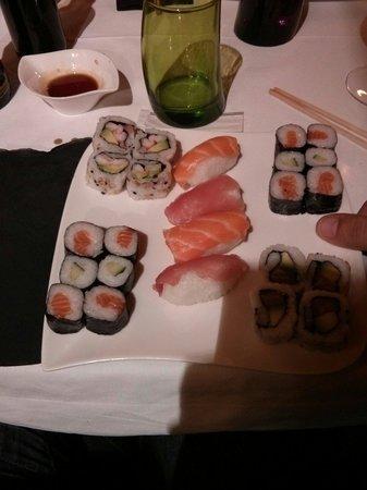Sushi Bar : El sushi a volonte, Buffet libre
