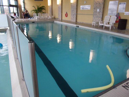Indoor Salt Water Pool Lap Section Picture Of Brookstreet Hotel Ottawa Tripadvisor