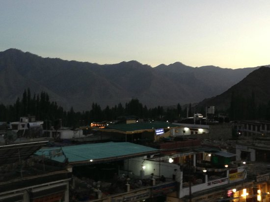 View from Leh View Restaurant