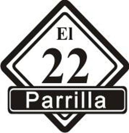 El 22 Parrilla : Logo