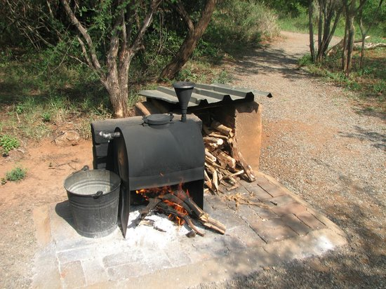 Mosetlha Bush Camp & Eco Lodge : Donkey boiler