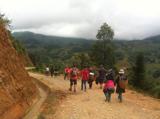 Fansipan View Hotel : Trekking in Sapa