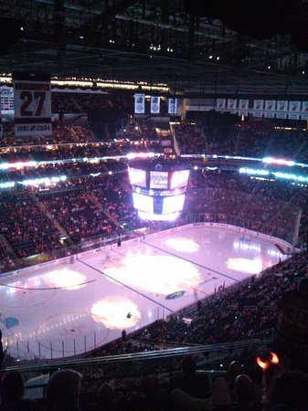 Inside the Prudential Center