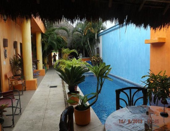 Casita de Maya : View from our terrace