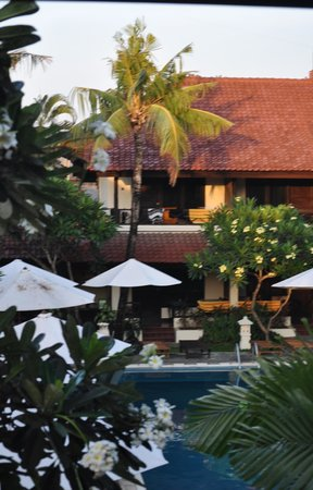 Legian Paradiso Hotel: View from room