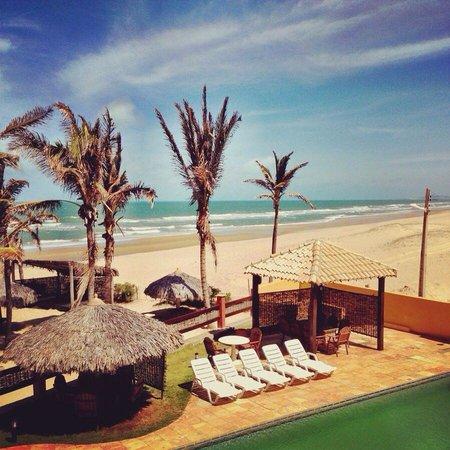 Melina Praia Hotel: Vista da suíte 21