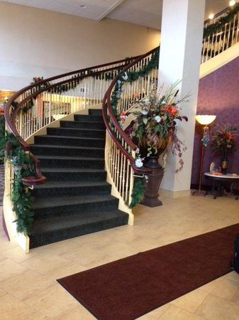 Comfort Suites Lake George : staircase