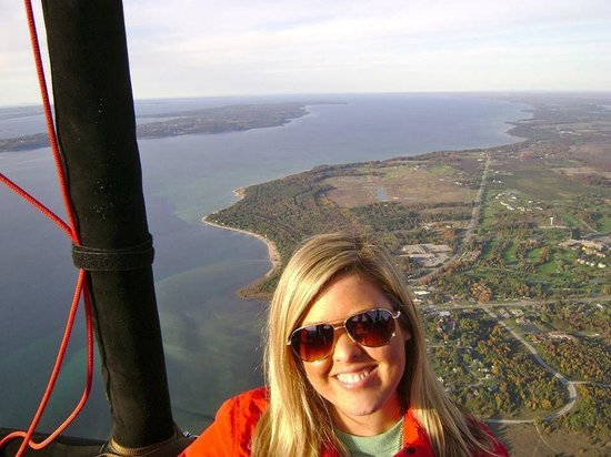 Grand Traverse Balloons - Tours: Obligatory fb profile pic ;)