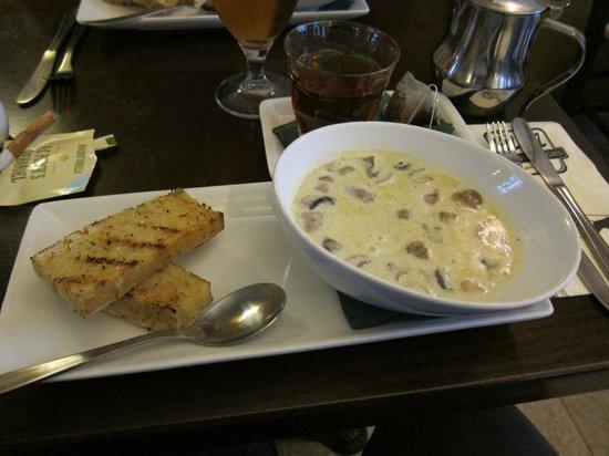 RizRaz: Mushroom soup