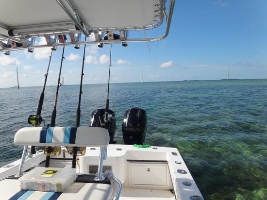Far Out Fishing Charters: The vessel