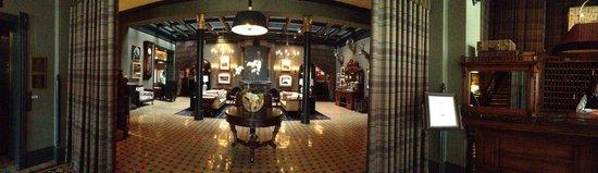 Hotel Jerome, An Auberge Resort : Lobby/Living Room