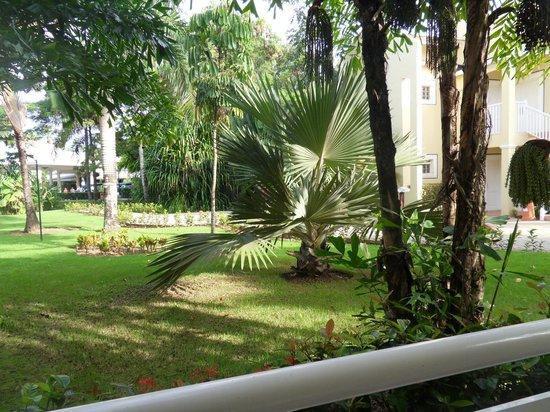 Grand Bahia Principe El Portillo: view from our room
