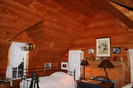 Seventy-four Ranch: One of the upstairs rooms