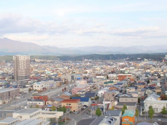 Toyoko Inn Akitaeki Higashiguchi: View from the room