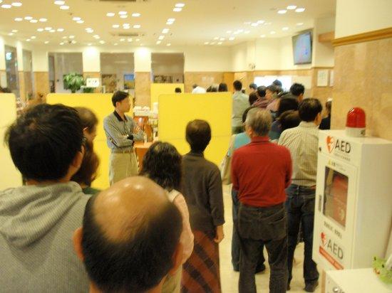Toyoko Inn Akitaeki Higashiguchi: Occasional long breakfast line