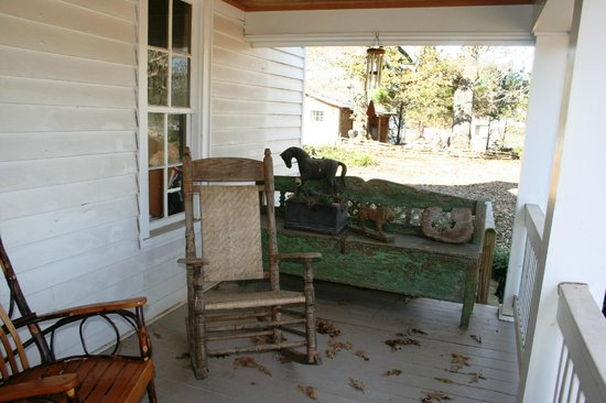 Seventy-four Ranch: Front porch to relax