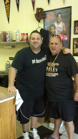 Gentile Bros Authentic Cheesesteaks : Nick Gentile and Marc