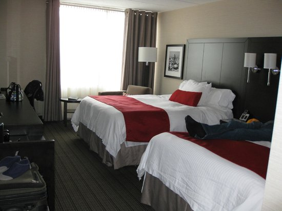 Delta Hotels by Marriott Sault Ste. Marie Waterfront: Doubled bedded room