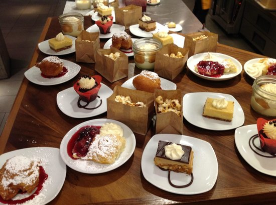 Farmers Fishers Bakers: Desserts a plenty.