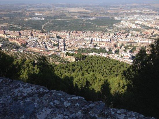 Parador de Jaen: The view