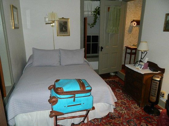 The Stagecoach Inn Bed and Breakfast: View of room.