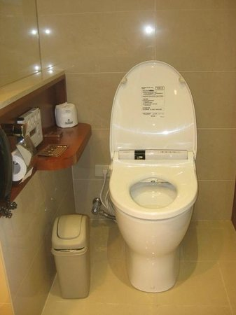 San Want Residences: japanese style toilet