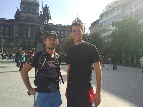 Running Tours Prague: Radim and I