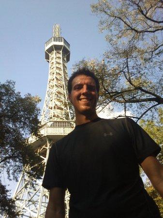 Running Tours Prague: Petřín Lookout Tower