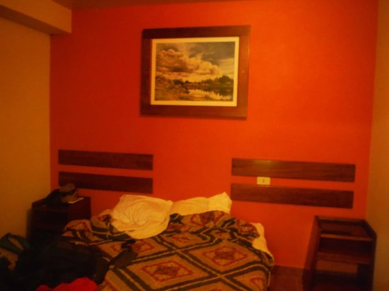 Hostal Machu Picchu: Habitacion