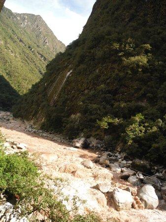 Hostal Machu Picchu: Vistas del rio