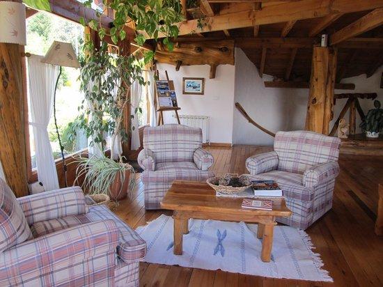 Hosteria Casa del Lago: living