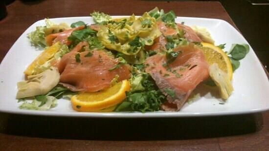 La Trattoria Napoletana: insalata al profumo di Sorrento