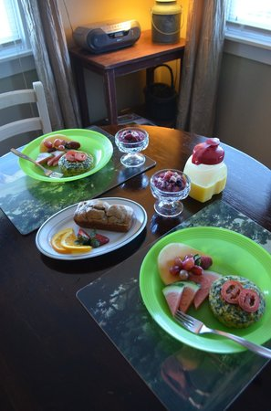 Piney Hill Bed & Breakfast: Special breakfast