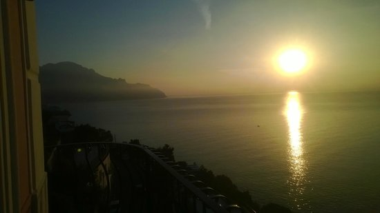 Villa Maria Luigia: Views left from the Balcony