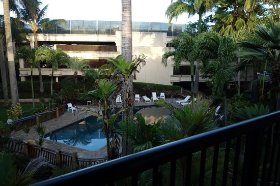 Prince Kuhio Condos: View from front door