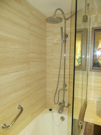 NH Collection Palacio de Tepa: Great shower