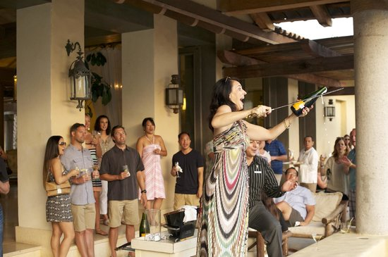 "The St. Regis Punta Mita Resort: Erin ""Sabres"" Veuve Cliquot - #ChampagneRitual"