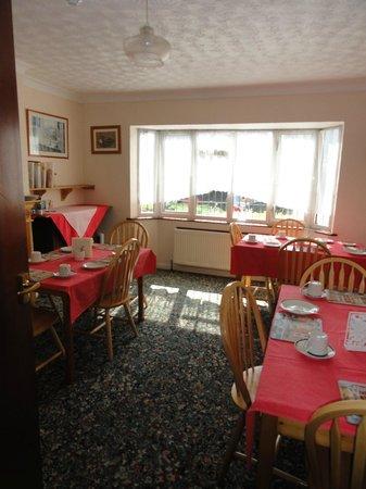 Carlton Lodge: Sunny dinning area.