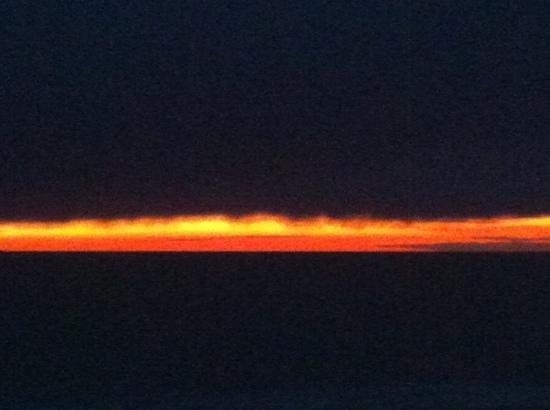 Herring Cove Beach: 11/10/2013 --rainy day sunset; photo #1