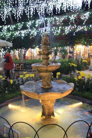 Pousada de Coloane Beach Hotel & Restaurant: fountain