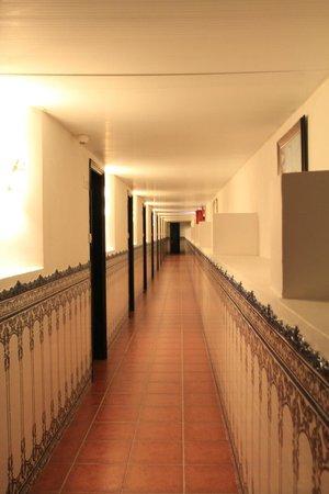 Pousada de Coloane Beach Hotel & Restaurant: hallway